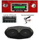 1964-1966 Ford Mustang Radio + DVC Dash Speaker + iPod Dock + USB Aux 630 II