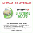 NEW TomTom USA/Canada LIFETIME MAP Update CODE Card VIA 1435 1535 GO 2435 2535TM