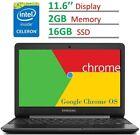 2017 Samsung Chromebook 11.6'' HD LED 1366 x 768 Display, Intel Dual Core...