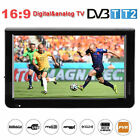 "12"" LED HD Digital Car TV 16:9 DVB-T/T2 Television Player AV/USB/TF/HDMI Lot EB"