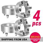 """4 x 2"""" 50mm Silver 5x139.7mm 5x5.5 1/2"""" x 20 Wheel Spacers for 05-06 Ford E-150"""