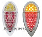 Flat Mount Red Amber Zephyr LED Taillights Brake Tail Turn Dune Buggy F39ARZ