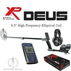 """XP Deus with 9.5"""" DD High Frequency Elliptical Coil + WS5 Headphones + Remote"""