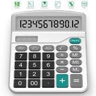 Calculator, Splaks Standard Functional Desktop Calculator Sola and AA...