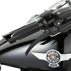 Arlen Ness Black Comfort Deep Cut Grips Harley 08-17 Touring FLHT FLTR FLHX