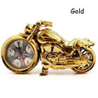 Motorcycle Motorbike Pattern Alarm Clock Creative Home Birthday Gift Cool Clock