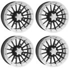 4 ATV/UTV Wheels Set 12in ITP SD Beadlock Polished 4/156 4+3 1KXP