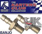 Banjo Straight Bolt x 2 for Fuel Pump - Used in Kart Honda GX160 & GX200 Go Kart