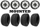 Kit 4 Interco LIEF Tires 25.5x8.5-14/25.5x9.5-14 on Frontline 556 Machined IRS