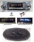1963-64 Impala Bel Air Bluetooth Stereo Radio + Speaker Color Display w/ AC 740