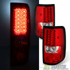 04-08 Ford F150 Styleside Philips-LED Perform Red Clear taillights Left+Right