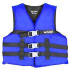 Airhead Open Sided Youth Nylon Life Vest Blue