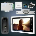 """HOMSECUR 7"""" Video&Audio Smart Doorbell+IR Night Vision for Home Security"""