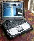 Panasonic Toughbook CF-19 WIN 7 LAPTOP GPS CAMERA OFFICE  320Gb HDD TOUCHSCREEN