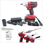Rechargeable 360n.m 68V Car Autos Brushless Electric Impact Wrench + Adaptor Kit