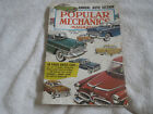 1955 POPULAR MECHANICS MAGAZINE 48 PAGES ABOUT CARS NEW CAR ISSUE FEB 1955