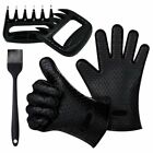 B.B.Queen 1 Set of Cooking Gloves Meat Shredder Claws Silicone Brush Set for