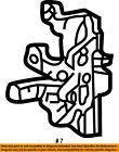 Dodge CHRYSLER OEM 01-04 Dakota Front Door-Lock Latch Kit 55256835AL