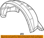 Dodge CHRYSLER OEM Front Fender-Liner Splash Shield Panel Cover Left 55157171AD