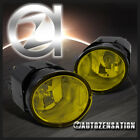 For Nissan Maxima Sentra Frontier Xterra Yellow Bumper Driving Fog Lights+Switch