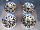 Bandit Gold Trans Am 15x7 Pontiac snowflake GM wheels (4)