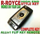 R.R. STYLE FLIP REMOTE FOR MITSUBISHI GQ43VT6T CLICKER FOB KEYLESS ENTRY KEY RCU