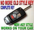 I-KEY STYLE FLIP REMOTE FOR MITSUBISHI GQ43VT6T CLICKER FOB KEYLESS ENTRY KEY RC