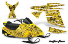 AMR SNOWMOBILE SKI DOO MINI Z KIDS SLED DECAL BUTTERFLY