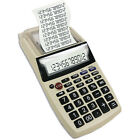 NEW Palm-Sized Printing Calculator with Adaptor - Taxes, Expense Reports & More