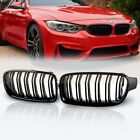 Glossy Black Front Kidney Grille Grill For 2012-2018 BMW F30 320i 328i 335i 4Dr