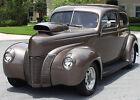 1940 Ford TUDOR SEDAN HOTROD - TUBBED BEAUTIFUL TUBBED CUSTOM - 1940 Ford Tudor Sedan