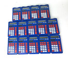 14 Texas Instruments TI-108 Kit Solar Power Calculators Used Working Condition