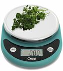 NEW Ozeri ZK14-T Pronto Digital Multifunction Kitchen and Food Scale Teal Blue