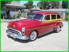Oldsmobile Rocket 88 4 Door Tin Woody Olds RestoMod1950 Oldsmobile 88 Futurmatic Station Wagon 324/4SP Delivery
