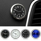 Auto Boat Car Air Vent Stick-on Clock Mini Luminous Interior Quartz Analog Watch