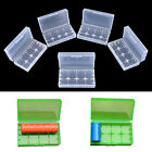 5Pcs 18650 CR123A 16340 Hard Plastic Transparent Battery Case Box Holder ESUS
