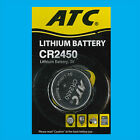 8x CR2450 3V Lithium Button Cell Battery Toys Medical Car Remotes Single-use