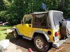 2001 Jeep Wrangler convertable 2001 jeep wrangler with Meyers plow home use only
