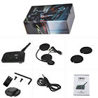Durable V6 Pro Bluetooth Interphone Motorcycle Helmet Intercom Headset 6 Rider
