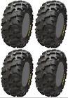 Four 4 ITP Blackwater Evolution ATV Tires Set 2 Front 34x10-17 & 2 Rear 34x10-17