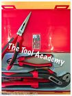 TT440-T Teng Tools TPR Plier Set 4 Pce Plier Grip Cutter Tool Set In Case