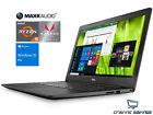 """Dell Inspiron 15.6"""" FHD Laptop, Ryzen 5 2500U, 16GB DDR4, 128GB SSD, W10P (BLK)"""