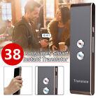 Portable Smart Language Translator Voice Instant 38 Languages Speech Bluetooth A