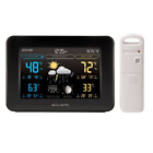 AcuRite 02027A1 Color Weather Station with Temperature and Humidity Monitor, -