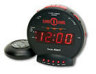 Sonic Alert SBB500SS Sonic Bomb Extra-Loud Dual Alarm Clock with Red Flashing a
