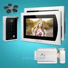 """HOMSECUR 7"""" Touch Screen Video&Audio Smart Doorbell Password & ID Access"""