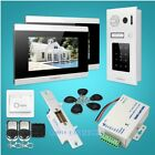 """7"""" Wired Video&Audio Smart Doorbell with One Button Unlock for Apartment"""
