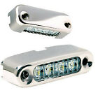 """Attwood 6350R7 Led Micro Courtesy Utility Light 1.63"""" Red 8939"""
