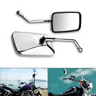 2 Pcs Motorcycle Left+Right Rearview Side Mirrors For Honda Rebel 250 Sabre 1300