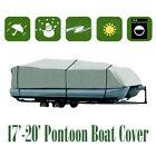 17 18 19 ft Trailerable Fishing Ski Bass Boat Cover Waterproof BBT2Q